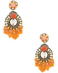 Ranjana Khan - Catete Earring In Orange. - Lyst
