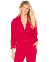 Amanda Uprichard Albany Jacket - Red