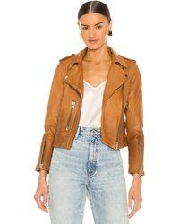 AllSaints - Куртка Fern В Цвете Песочно-коричневый - Lyst