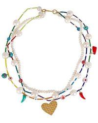 Mercedes Salazar Colores Necklace - Multicolour