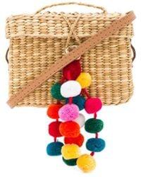 Nannacay | Baby Roge Multi Pompom Bag | Lyst