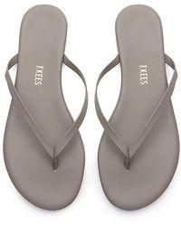 TKEES Solids Flip Flop - Grey