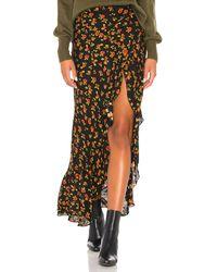 Jen's Pirate Booty Ana Ruffle Skirt - Black