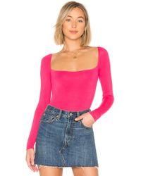Lovers + Friends - Remi Bodysuit In Pink - Lyst