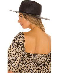 Janessa Leone Calder Hat - Schwarz
