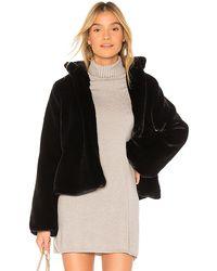 Tularosa Inori Faux Fur Jacket - Black