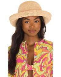 Lack of Color Raffia Cruiser Hat - Mehrfarbig