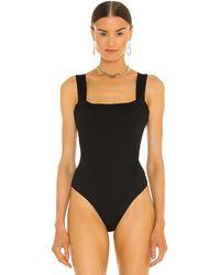 PAIGE Brennen Bodysuit - Black
