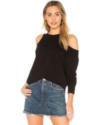 Monrow - Supersoft Double Layer Sweatshirt - Lyst