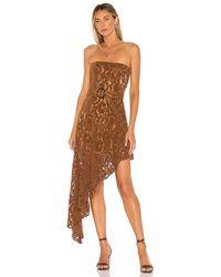Tularosa Harling Dress - Brown