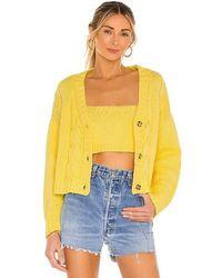 Callahan Lu Cardigan Set - Yellow