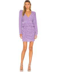 LPA Платье Ailisa В Цвете Anette Dot - Пурпурный