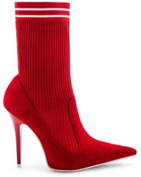 Jeffrey Campbell - Starter Bootie In Red - Lyst