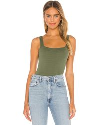 Free People Square One Seamless Cami - Green