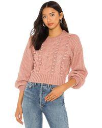 Astr Tina セーター - ピンク