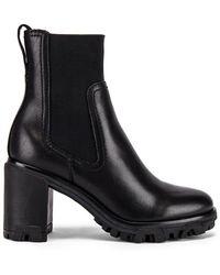 Rag & Bone Ankle Boots Shiloh aus Leder - Schwarz