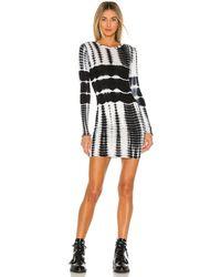 superdown Dusk Mini Dress - Schwarz