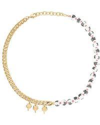 Joolz by Martha Calvo Palm Beach Necklace - Metallic