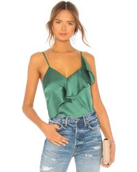 Lovers + Friends - Laguna Top In Green - Lyst