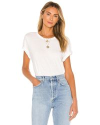 Agolde Mariam Tシャツ - ホワイト