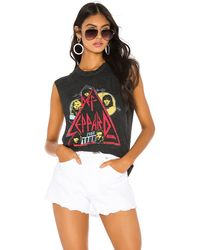 Daydreamer Def Leppard スリーブレスtシャツ - ブラック