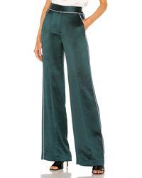 Veronica Beard Edia パンツ In Dark Green. Size 4, 6. - グリーン