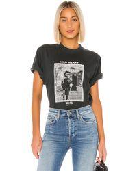 Anine Bing Georgie Tシャツ - ブラック