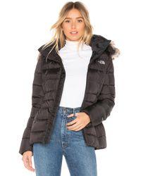 The North Face - Gotham Jacket Ii W/ Faux-fur Trim & Hood - Lyst