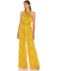 Alexis Комбинезон Janina В Цвете Sunrise Bouquet - Yellow. Размер M (также В S,xs). - Желтый