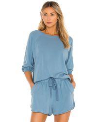 Eberjey Blair Sweatshirt - Blau