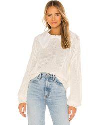 Line & Dot Dinah セーター - ホワイト