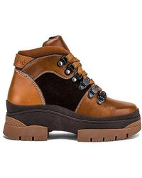See By Chloé Hiking Bootie - Brown