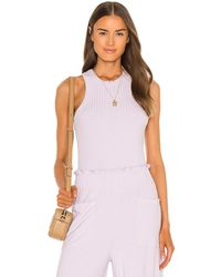 Free People - Майка Blissed Out В Цвете Dew Berry - Lyst