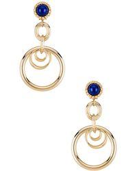 Anton Heunis - Large Ring Earrings - Lyst