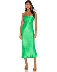 Bec & Bridge Loren Cut Out Midi Dress - Green