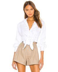 Marissa Webb White Emmerson Oxford Shirt