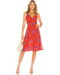 House of Harlow 1960 - X Revolve Ines Dress In Red - Lyst