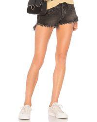 One Teaspoon Bonita Low Waist Short. Size 26. - Mehrfarbig