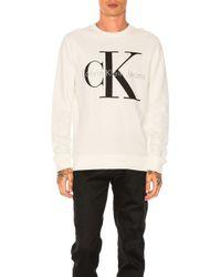 CALVIN KLEIN 205W39NYC - Reissue Logo Sweatshirt - Lyst