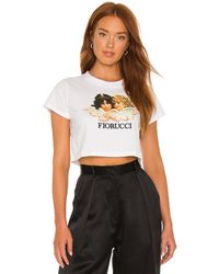 Fiorucci Vintage Angels Tシャツ - ホワイト