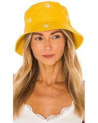 8 Other Reasons Daisy Bucket Hat - Gelb