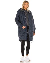 Free People X Fp Movement Juno Packable Reversible - Blue