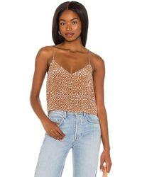 Acacia Swimwear Liv Cupro Top - Brown