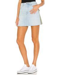 FRAME Le Mini スカート - ブルー