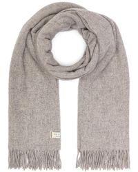 Rag & Bone Classic Wool Scarf - Grau