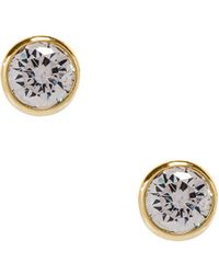 Shashi - Solitaire Stud Earring - Lyst