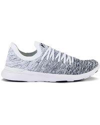 APL Shoes Кроссовки Techloom Wave В Цвете White Midnight & Ombre - Белый