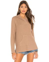 Bobi - Topanga Sweater Knit Hoodie - Lyst