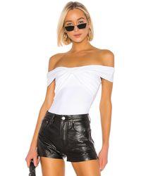 Alix NYC Grove Bodysuit In White - Белый