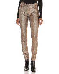 PAIGE Extra-enge Skinny-Jeans Hoxton - Mettallic